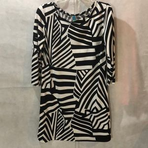 touch express Dresses - 🗂Office Wear, Black & White A-line dress